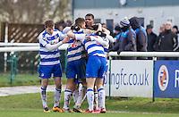 Reading U21 v Leicester City U21 - Premier U21 League - 08/02/2016