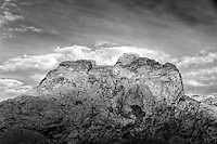 San Rafael Reef, Utah (Black & White)