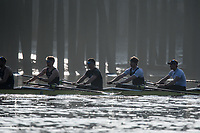 Putney, London,  Tideway Week, Championship Course. River Thames, OUBC, Oxford<br /> Right to Left.  4: Joshua Bugaski, 5: Olivier Siegelaar &ndash; NED, 6: Michael DiSanto &ndash; USA. 7: James Cook , Stroke: Vassilis Ragoussis,<br /> <br /> Tuesday  28/03/2017<br /> [Mandatory Credit; Credit: Peter Spurrier/Intersport Images.com ]