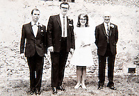 BNPS.co.uk (01202 558833)<br /> Pic: PhilYeomans/BNPS<br /> <br /> Irene and husband Bill on their wedding day in 1970.<br /> <br /> Lucky Irene finds her gold wedding ring...after 30 year wait.<br /> <br /> A widow has been reunited with her wedding ring 30 years after she lost it thanks to her metal-detecting son-in-law.<br /> <br /> Irene Freeman lost it outside her home in Basingstoke, Hants, in 1985 when she was playing with her nine-year-old daughter Kat.<br /> <br /> She didn't realise the 22ct gold band had come off until later in the day and, despite searching for it in the small front garden, Mrs Freeman could not find her beloved possession and gave up hope of ever seeing it again.<br /> <br /> But she never forgot about it and jokingly mentioned to her daughter Kat's partner Malcolm Williams he could try finding it when they talked about his metal detecting hobby.