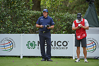Phil Mickelson (USA) looks over his tee shot on 17 during round 2 of the World Golf Championships, Mexico, Club De Golf Chapultepec, Mexico City, Mexico. 2/22/2019.<br /> Picture: Golffile | Ken Murray<br /> <br /> <br /> All photo usage must carry mandatory copyright credit (© Golffile | Ken Murray)