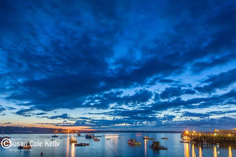 Dawn in Prospect Harbor, Gouldsboro, ME, USA