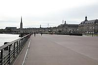 General view of Quai de la Douane, Bordeaux, Nouvelle-Aquitaine, France on 16.10.19.