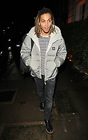 LONDON, ENGLAND - NOVEMBER 26: Bluey Robinson at the Biltmore Hotel launch party, The Biltmore, Grosvenor Square on Tuesday 26 November 2019 in London, England, UK. <br /> CAP/CAN<br /> ©CAN/Capital Pictures