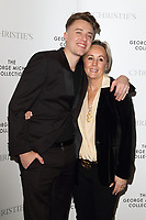 Roman Kemp and Shirlie Kemp at The George Michael Collection - VIP private view and reception at Christies, St James, London on March 12th 2019<br /> CAP/ROS<br /> &copy;ROS/Capital Pictures