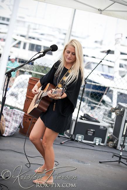 Emma Joy Galvin performing at Newport Waterfront Events