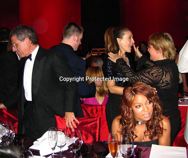 Sarah Jessica Parker, Ashanti<br />Louis Vuitton United Cancer Gala<br />Universal Studios<br />Universal City, Los Angeles, CA, USA<br />Monday, November 08, 2004<br />Photo By Celebrityvibe.com/Photovibe.com, New York, USA, Phone 212 410 5354, email:sales@celebrityvibe.com