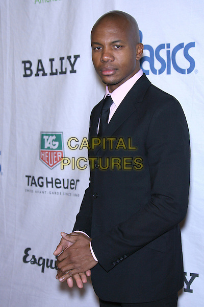 LEONARD ROBERTS.Oxfam Annual Cocktail Party - Arrivals held at The Esquire House 360, Beverly Hills, California, USA..November 29th, 2006.half length black suit jacket.CAP/ADM/ZL.©Zach Lipp/AdMedia/Capital Pictures
