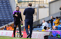Stoke City manager Nathan Jones shakes hands with Blackburn Rovers manager Tony Mowbray after the match<br /> <br /> Photographer Alex Dodd/CameraSport<br /> <br /> The EFL Sky Bet Championship - Blackburn Rovers v Stoke City - Saturday 6th April 2019 - Ewood Park - Blackburn<br /> <br /> World Copyright © 2019 CameraSport. All rights reserved. 43 Linden Ave. Countesthorpe. Leicester. England. LE8 5PG - Tel: +44 (0) 116 277 4147 - admin@camerasport.com - www.camerasport.com