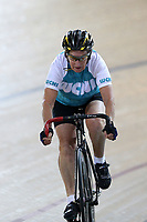 Janice O'Brien of West Coast North Island competes in the Masters Women 7 500m Time Trial at the Age Group Track National Championships, Avantidrome, Home of Cycling, Cambridge, New Zealand, Wednesday, March 15, 2017. Mandatory Credit: © Dianne Manson/CyclingNZ  **NO ARCHIVING**