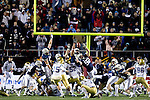 07FTB Las Vegas Bowl.BYU vs UCLA..BYU- 17.UCLA- 16..Blocked Kick. 55 Eathyn Manumaleuna. 92 Brett Denney...December 22, 2007..Photography by  Mark A. Philbrick..Copyright BYU Photo 2007.All Rights Reserved.photo@byu.edu   (801)422-7322