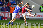 Declan O'Sullivan Dromid Pearses v Cathal O'Neill Derrytresk in the AIB All Ireland Junior Club Championship Semi Final at Portlaoise on Sunday