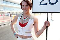 AUSTIN, TEXAS, ESTADOS UNIDOS, 18 NOVEMBRO 2012 - F1 - GP DOS EUA - Modelo durante Grande Premio dos Estados Unidos de Formula, na cidade de Austin no Texas, neste domingo, 18. (FOTO: PIXATHLON / BRAZIL PHOTO PRESS).