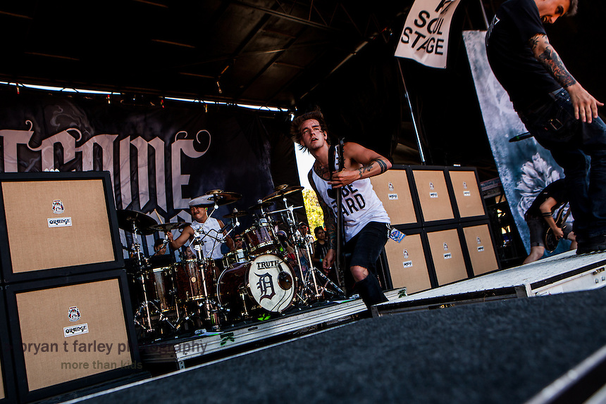 We Came As Romans is a metalcore band from Michigan. The five members are Dave Stephens (Vocals), Kyle Pavone (Vocals/Keys), Joshua Moore (Guitar), Lou Cotton (Guitar), Andy Glass (Bass), and Eric Choi (Drums).