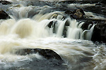 Waterfalls on the River Tummel near Tummel Bridge, Perthshire