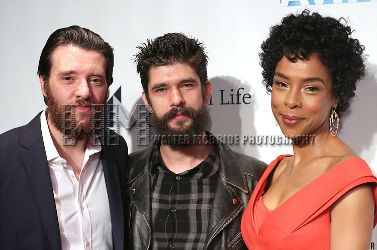 Jason Butler Harner, Ben Whishaw and Sophie Okonedo attends The 82nd Annual Drama League Awards  at the Marriott Marquis Times Square on May 20, 2016 in New York City.