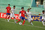 South Korea vs Myanmar during the 2014 AFC Women's Asian Cup Group Stage B match on May 15, 2014 at the Th?ng Nh?t Stadium in H? Chí Minh City, Vietnam. Photo by World Sport Group