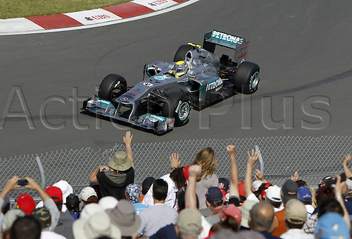 10 06 2011  FIA Formula One World Championship 2011 Grand Prix of Canada 08 Nico Rosberg ger Mercedes GP Petronas F1 team