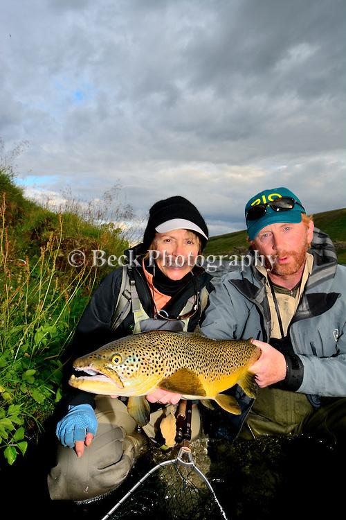 Iceland 2013 handheld brown trout
