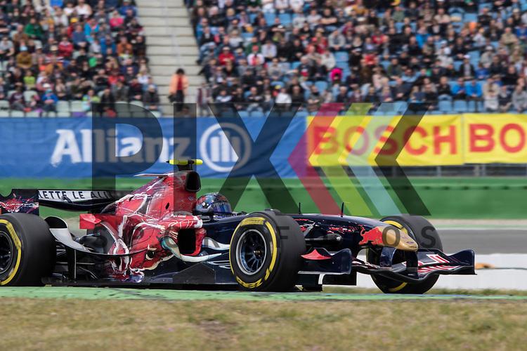 Hockenheim 21.-23. April 2017, BOSCH Hockenheim Historic auf dem Hockenheimring.<br /> <br /> BOSS GP - Ingo Gerstl vom Team Top Speed (Toro Rosso STR1 Cosworth 3.0 V10)<br /> <br /> Foto &copy; PIX-Sportfotos *** Foto ist honorarpflichtig! *** Auf Anfrage in hoeherer Qualitaet/Aufloesung. Belegexemplar erbeten. Veroeffentlichung ausschliesslich fuer journalistisch-publizistische Zwecke. For editorial use only.