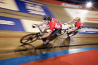 fast lap for Alex Rasmussen (DEN) &amp; Marc Hester (DEN)<br /> <br /> Ghent 6 - day 1
