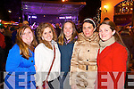 Pictured in Killarney for New Years Eve were l-r: Emily Anderson (Chicago) Keeley Anderson (Chicago) Jenna Pierse (Killarney) Sandra Woller (Germany and Killarney) Aoife O'Sullivan (Killarney).