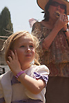 Emily Janay Farley attends her first rodeo with her grandmother Alice Pierson-Knapp in April 2011. In 2014 The Clovis Rodeo celebrated its Centennial.
