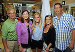From left: Ray McCloskey, Ellen McCloskey, Ellen McCloskey, Tanya Ellenberg and Jeff Ellenberg at the M.D. Anderson Back-to-School Fashion Show at the Galleria Saturday Aug. 16, 2014.(Dave Rossman photo)