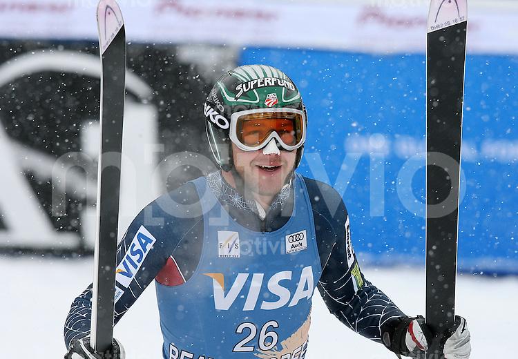 Ski Alpin; Saison 2006/2007  Abfahrt Herren Freude, Sieger Bode Miller (USA)