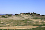 Tuscan scenery during the 2015 Strade Bianche Eroica Pro cycle race 200km over the white gravel roads from San Gimignano to Siena, Tuscany, Italy. 7th March 2015<br /> Photo: Eoin Clarke/www.newsfile.ie