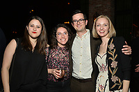 """NEW YORK - MARCH 19: (L-R) Tova Silverman, Emma Weinstein, Richie Moriarty and Kiera Moriarty attend the party at the Bowery Hotel Terrace following the premiere for FX Networks """"What We Do In The Shadows"""" on March 19, 2019 in New York City. (Photo by Anthony Behar/FX/PictureGroup)"""