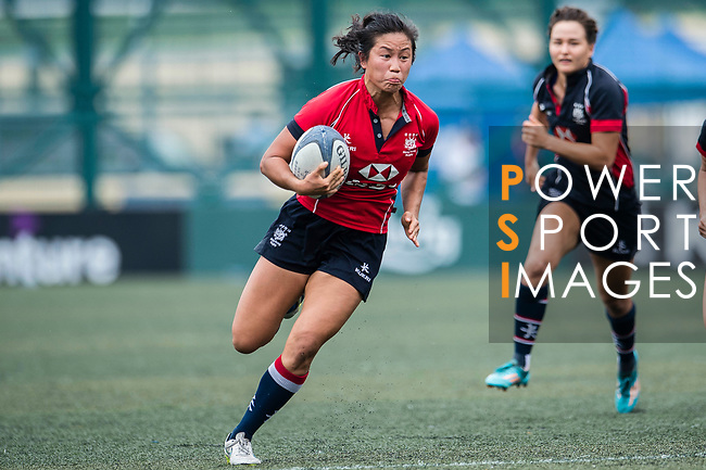 Laurel Chor of Lions in action during the Women's National Super Series 2017 on 13 May 2017, in Hong Kong Football Club, Hong Kong, China. Photo by Marcio Rodrigo Machado / Power Sport Images