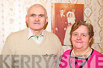 40th Wedding Anniversary : Patsy & Noreen Daughton, Leim. Kilflynn who celebrated their 40th wedding on Saturday last pictured at their home with their wedding day photo in the background.