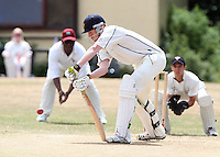 Aaron Hills of Ardleigh Green in batting action - Hornchurch CC 3rd XI vs Ardleigh Green CC 3rd XI, Essex Club Cricket at Fielders Sports Ground, Hornchurch - 03/07/10 - MANDATORY CREDIT: Rob Newell/TGSPHOTO - Self billing applies where appropriate - 0845 094 6026 - contact@tgsphoto.co.uk - NO UNPAID USE.