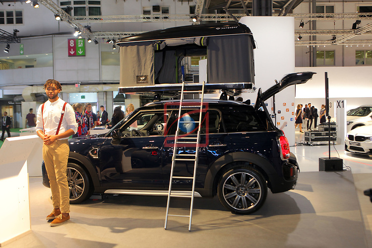 Automobile Barcelona 2017.<br /> Stand Mini.