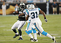 LADAINIAN TOMLINSON, of the New York Jets in action during the Jets game against the Carolina Panthers  at Bank of America Stadium in Charlotte, N.C.  on August 21, 2010.  The Jets beat the Panthters 9-3 in the second week of preseason games...