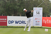 Sam Brazel (AUS) on the 14th tee during Round 1 of the UBS Hong Kong Open, at Hong Kong golf club, Fanling, Hong Kong. 23/11/2017<br /> Picture: Golffile | Thos Caffrey<br /> <br /> <br /> All photo usage must carry mandatory copyright credit     (&copy; Golffile | Thos Caffrey)