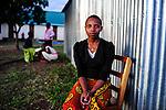 TANZANIA Mara, Tarime, village Masanga, region of the Kuria tribe who practise FGM Female Genital Mutilation, temporary rescue camp of the Diocese Musoma for girls which escaped from their villages to prevent FGM / TANSANIA Mara, Tarime, Dorf Masanga, in der Region lebt der Kuria Tribe, der FGM weibliche Genitalbeschneidung praktiziert, temporaerer Zufluchtsort fuer Maedchen, denen in ihrem Dorf Genitalverstuemmelung droht, in einer Schule der Dioezese Musoma, MARIA MAGABE wurde beschnitten