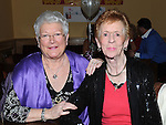 Pauline Smiles and Mary Gregory pictured at Breda Bird's 80th birthday in the Thatch. Photo: Colin Bell/pressphotos.ie