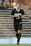 22 August 2008: Wake Forest's Corben Bone. The Wake Forest University Demon Deacons defeated the Virginia Commonwealth University Rams 2-1 at Fetzer Field in Chapel Hill, North Carolina in an NCAA Division I Men's college soccer game.