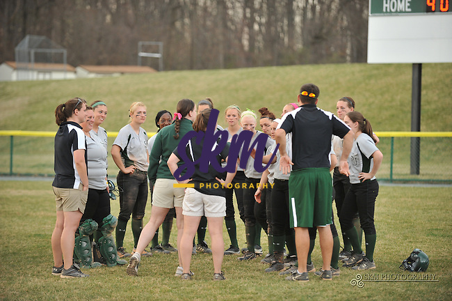"""Stevenson Mustangs took both games of their double header against Penn State Berks on Monday afternoon 8-0, invoking the """"Mercy Rule"""" for both games."""