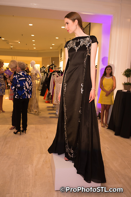 Veiled Prophet fashion show at Saks Fifth Avenue store in Frontenac, Missouri on June 12, 2015.