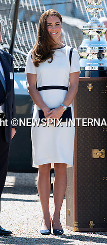 KATE SCRATCHED - IS LUPO IN THE DOGHOUSE ?<br /> When attending the bid to launch a British Team for the America's Cup the Duchessof Cambridge, displayed a large scratch across her left leg.<br /> The scratch which appears to be recent matches a paw scratch.<br /> Was the Duke and Duchess' beloved cocker spaniel reacting out of jealously with attention being given to Prince George as dog's are known for or was he just boisterous.<br /> Mandatory Photo Credit: SharpI/NEWSPIX INTERNATIONAL<br /> <br /> **ALL FEES PAYABLE TO: &quot;NEWSPIX INTERNATIONAL&quot;**<br /> <br /> PHOTO CREDIT MANDATORY!!: NEWSPIX INTERNATIONAL(Failure to credit will incur a surcharge of 100% of reproduction fees)<br /> <br /> IMMEDIATE CONFIRMATION OF USAGE REQUIRED:<br /> Newspix International, 31 Chinnery Hill, Bishop's Stortford, ENGLAND CM23 3PS<br /> Tel:+441279 324672  ; Fax: +441279656877<br /> Mobile:  0777568 1153<br /> e-mail: info@newspixinternational.co.uk
