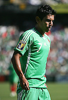 Alberto Medina. Mexico defeated Nicaragua 2-0 during the First Round of the 2009 CONCACAF Gold Cup at the Oakland, Coliseum in Oakland, California on July 5, 2009.