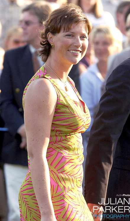 CONCERT IN BERGHOLM TO CELEBRATE CROWN PRINCESS VICTORIA.OF SWEDEN'S 25TH BIRTHDAY.  14/7/02 . PICTURE: UK PRESS  (ref 5105-29).PRINCESS MARTHA LOUISE.