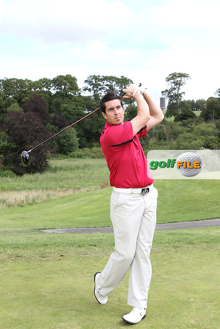Dan Frost PGA Professional at Carton House Golf Club, Manooth, Co Kildare Ireland.6/8/11.Day 2 Feature 2.Picture Jenny Matthews www.golffile.ie