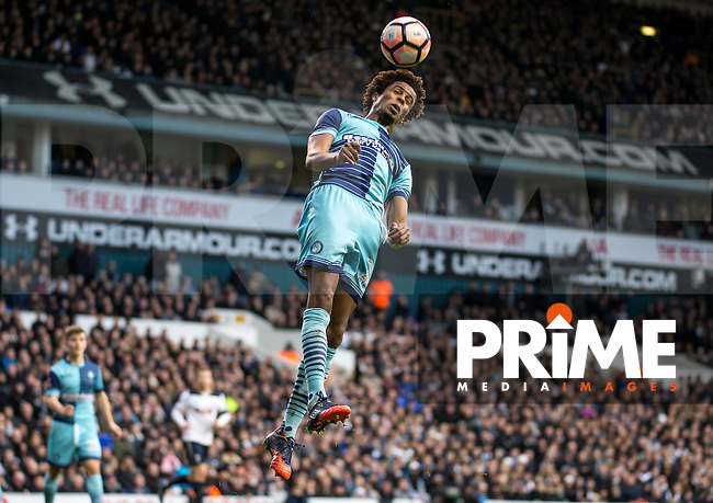 Sido Jombati of Wycombe Wanderers during the FA Cup 4th round match between Tottenham Hotspur and Wycombe Wanderers at White Hart Lane, London, England on the 28th January 2017. Photo by Liam McAvoy.