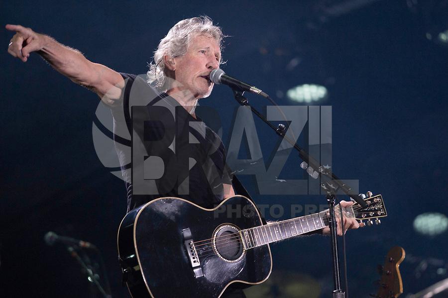 SÃO PAULO,SP, 09.10.2018 - SHOW-SP - O cantor Roger Waters durante show realizado na Arena Allianz Parque em Sao Paulo, na noite desta terça-feira, 09. (Foto: Levi Bianco/Brazil Photo Press)