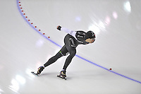 SCHAATSEN: CALGARY: Olympic Oval, 08-11-2013, Essent ISU World Cup, 1500m, Mathieu Giroux (CAN), ©foto Martin de Jong