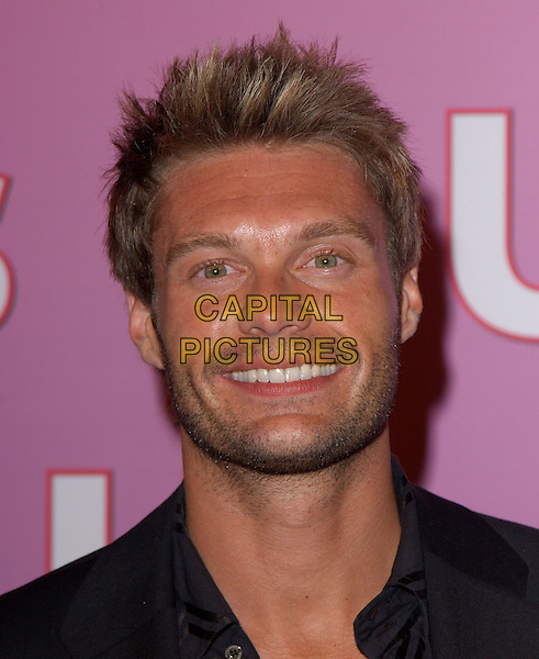 RYAN SEACREST.The Us Weekly Hot Young Hollywood Party held at The Spider Club in Hollywood, California.September 17, 2004.headshot, portrait, stubble, facial hair.www.capitalpictures.com.sales@capitalpictures.c.Copyright by Debbie VanStory